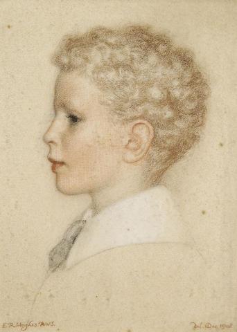 Avery Colebrook as a Boy, 1908 - Edward Robert Hughes