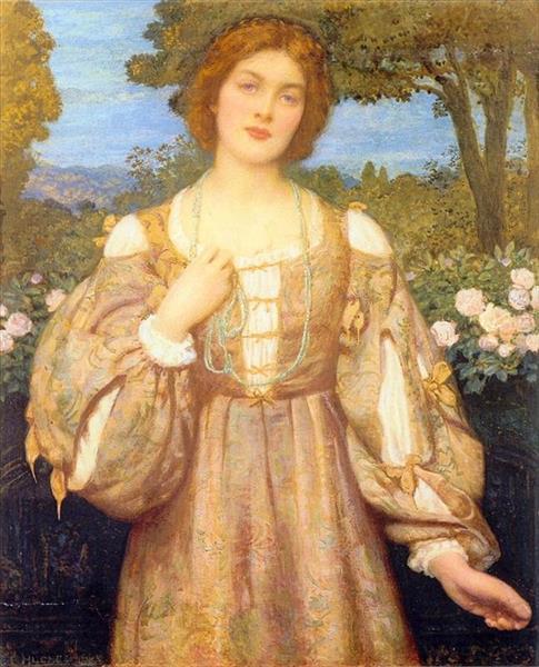 Monna Giovanna - Edward Robert Hughes