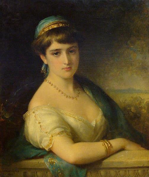 Portrait of a Lady, 1883 - Edward Robert Hughes