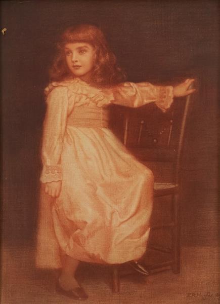Portrait of a Child - Edward Robert Hughes