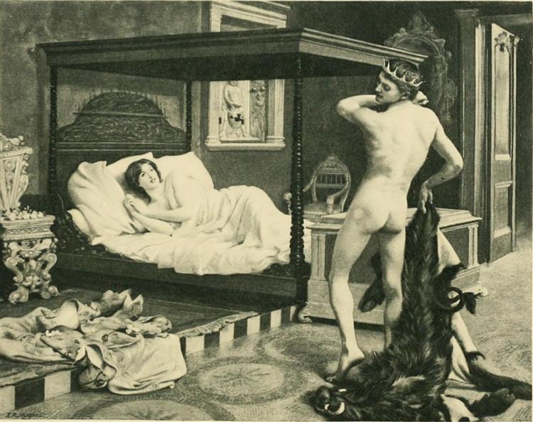 The Nights of Straparola, 1894 - Edward Robert Hughes