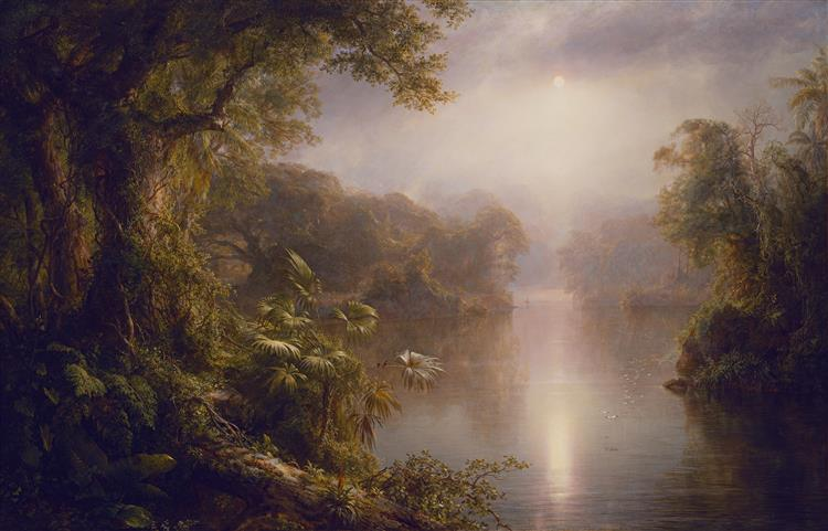 The River of Light, 1877 - Frederic Edwin Church
