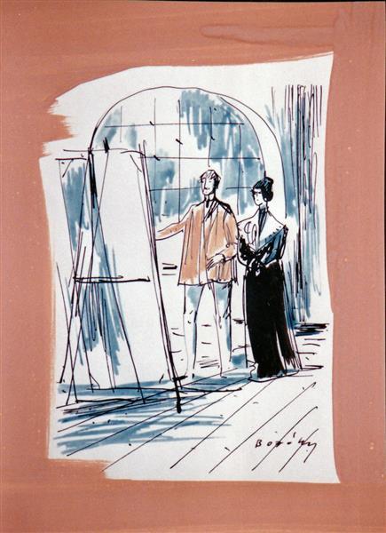 Gardonyi, Geza: Story of Ida, c.1980 - Maria Bozoky