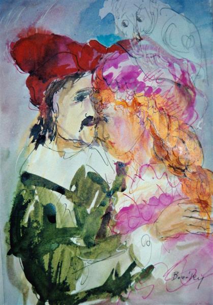 Vörösmarty: Csongor and Tünde, c.1992 - Maria Bozoky