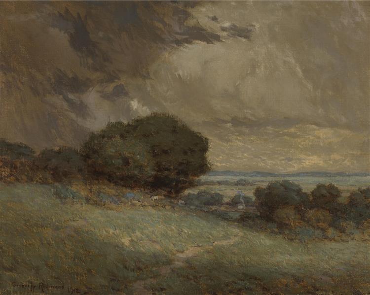 The Passing Storm - Granville Redmond