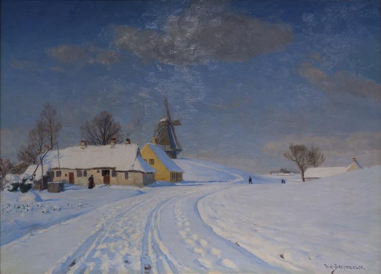 Snelandskab - Hans Andersen Brendekilde