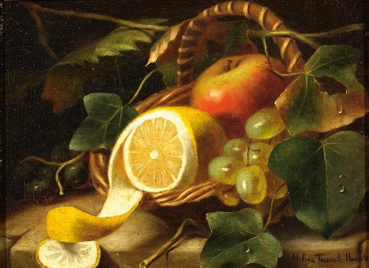 Fruit still life, c.1865 - Helen Augusta Hamburger
