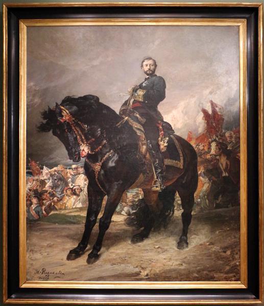 Juan Prim, October 8, 1868, 1868 - Henri Regnault