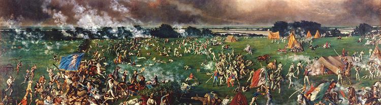 The Battle of San Jacinto, 1895 - Henry Arthur McArdle