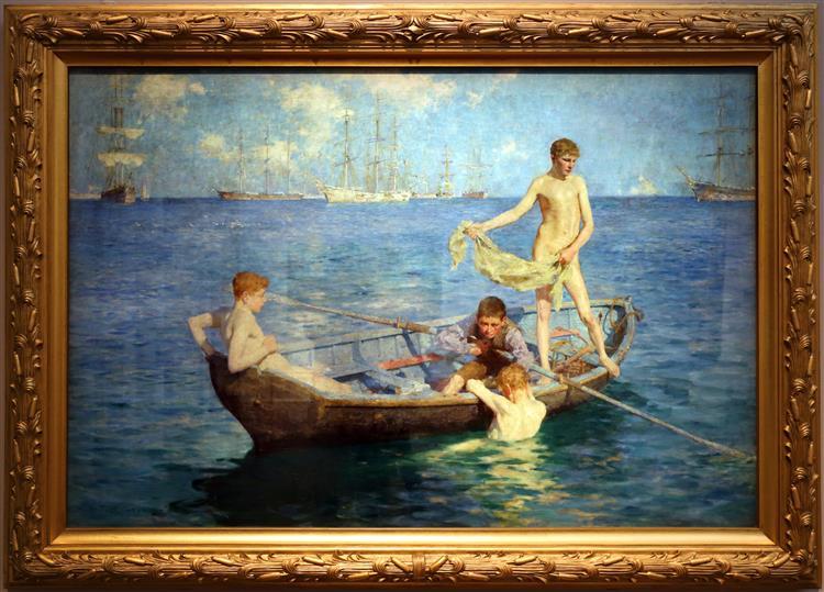 August Blue, 1894 - Henry Scott Tuke