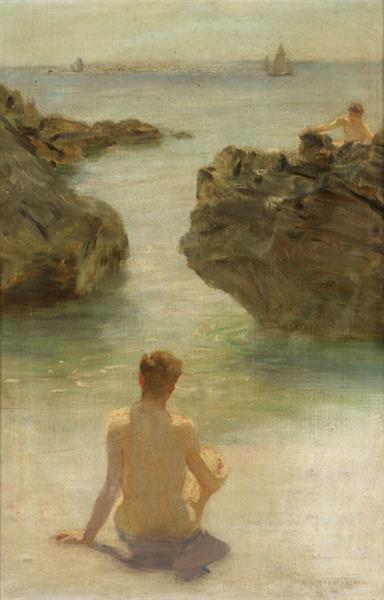Boy on a Beach, 1901 - Henry Scott Tuke