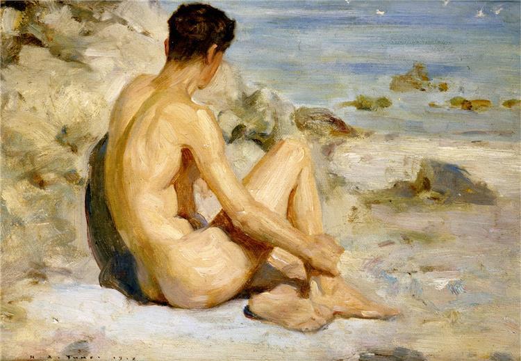 Boy on a Beach, 1912 - Henry Scott Tuke