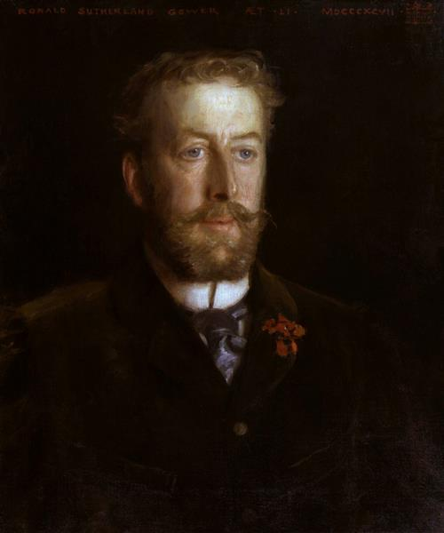 Lord Ronald Sutherland Gower, 1897 - Henry Scott Tuke
