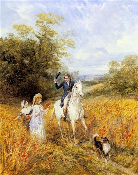 The Morning Ride - Heywood Hardy