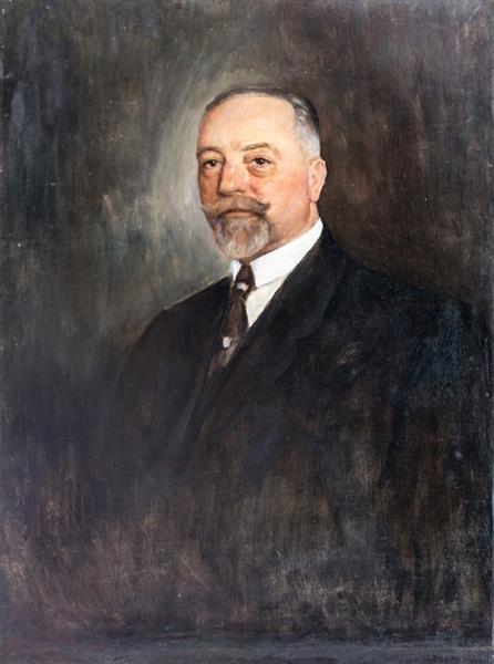 Портрет на Андрей Тасев Ляпчев - Ivan Mrkvička