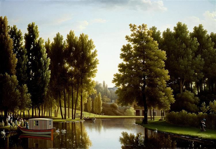 The Park at Mortefontaine, 1806 - Jean-Joseph-Xavier Bidauld