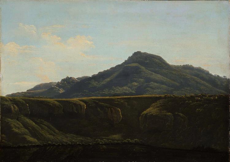 Monte Cavo Du Lac D'albano - Jean-Joseph-Xavier Bidauld