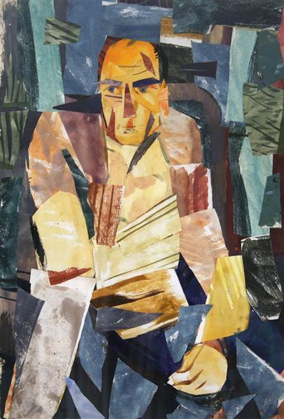 Self Portrait, 1968 - Ervin Tamas