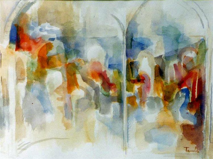 Old Fresco, 1992 - TAMÁS, Ervin