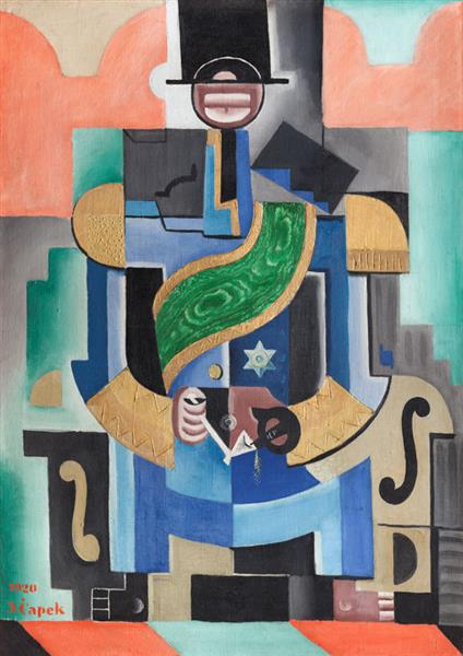 The African King, 1920 - Josef Capek