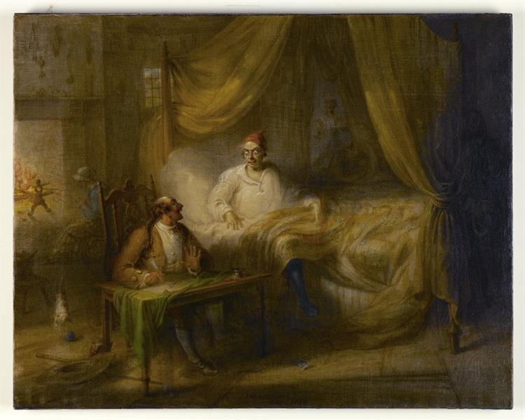 Wolfert's Will, c.1856 - John Quidor