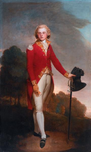 Aubrey, Earl of Burford, Later 6th Duke of St. Albans - Lemuel Francis Abbott