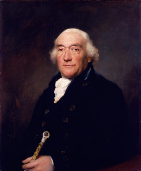 Portrait of Captain William Locker, 1800 - Lemuel Francis Abbott