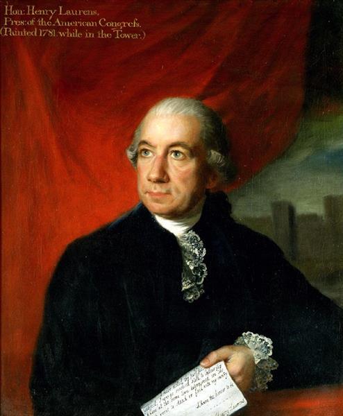 Portrait of Henry Laurens, 1784 - Lemuel Francis Abbott