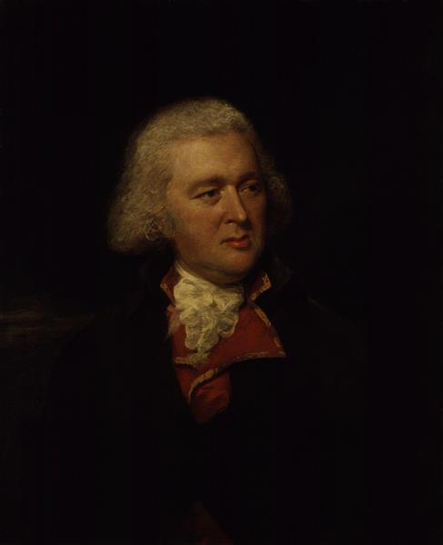 Portrait of Valentine Green - Lemuel Francis Abbott