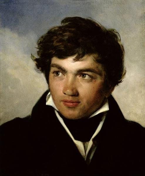 Der Französische Maler Achille Etna Michallon., 1819 - Léon Cogniet
