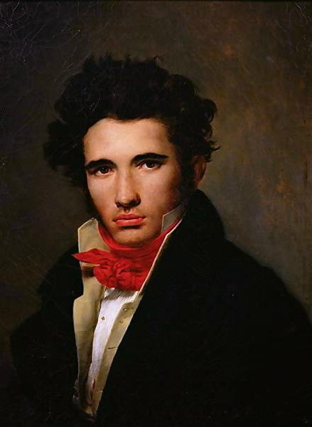 Self-portrait, c.1818 - Léon Cogniet