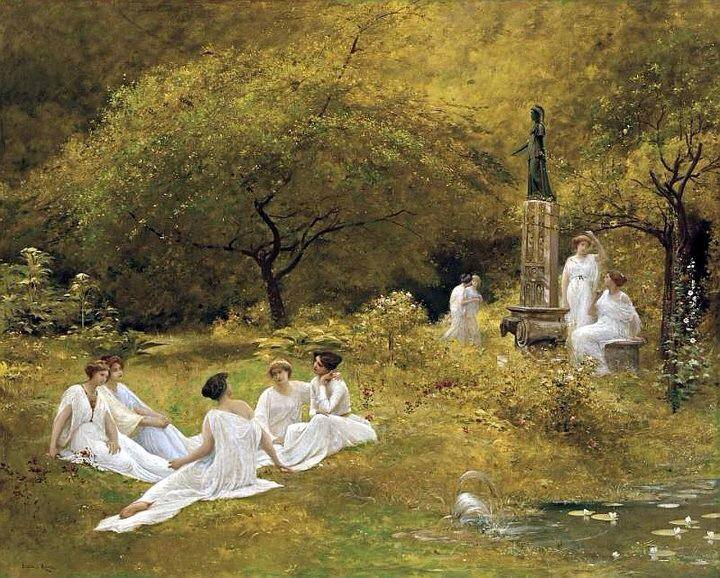 The Muses Garden - Lionel Noel Royer