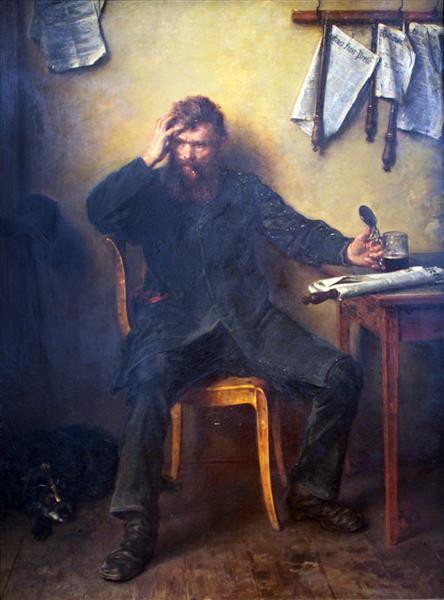 Le Mécontent, 1877 - Людвиг Кнаус
