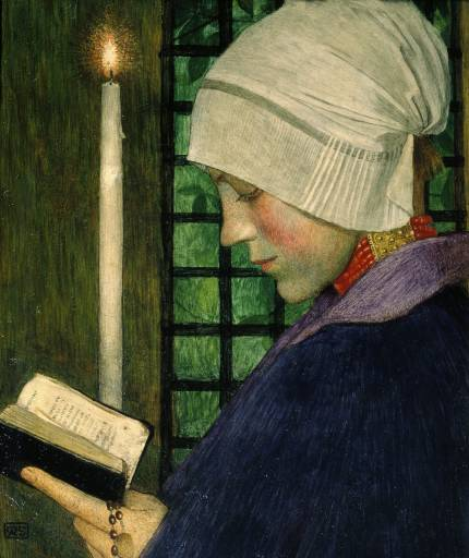 Candlemas Day - Marianne Stokes