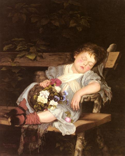 Sweet Dreams - Marianne Stokes