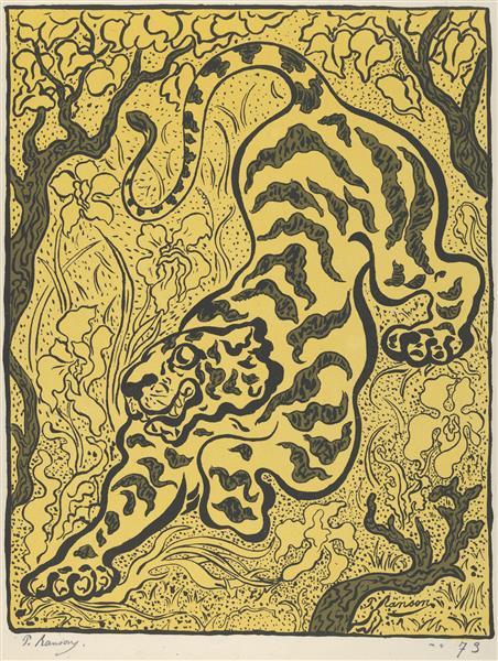 Tiger in the Jungle - Paul Ranson