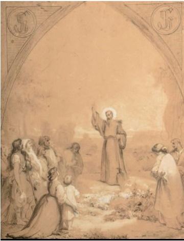 Saint Fiacre - Félix Louis Leullier