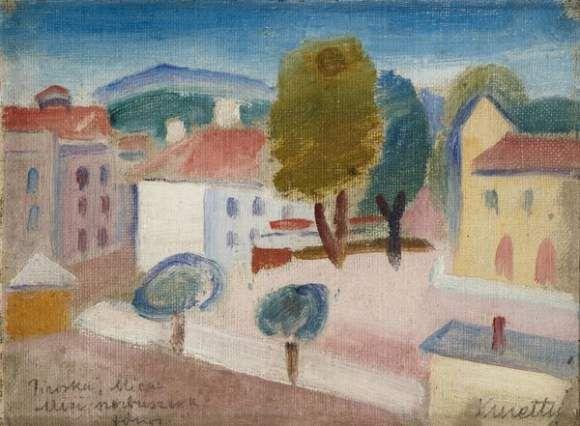 Cityscape, c.1930 - Kmetty János