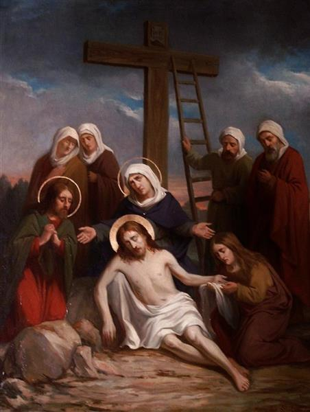 Lamentation of Christ, 1903 - Leo Steel