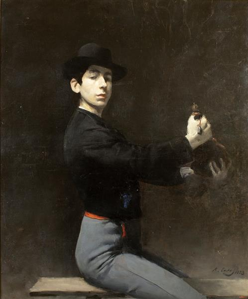 Self-portrait - Ramon Casas