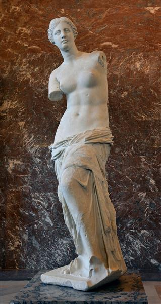 Venus Of Milo, by Alexander of Antioch, c.130 - c.110 BC - Ancient Greek Painting and Sculpture