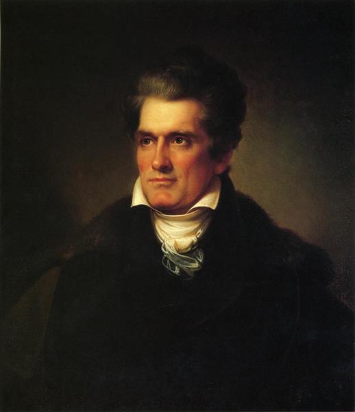 John C. Calhoun, 1834 - Rembrandt Peale