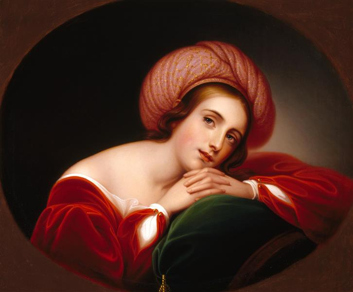 Idealized Portrait - Rembrandt Peale