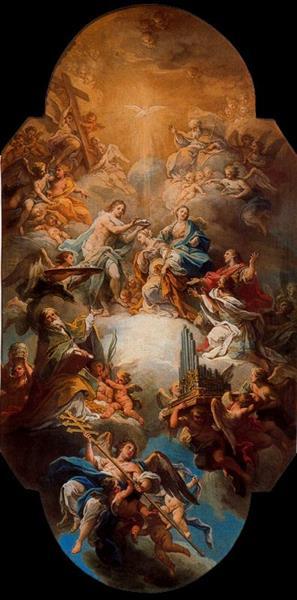 Gloria De Santa Cecilia - Sebastiano Conca