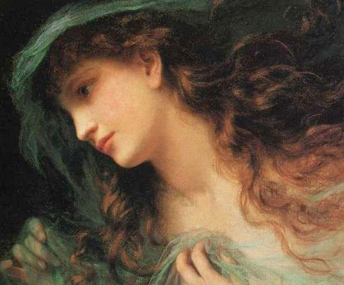 The Head of a Nymph - Sophie Gengembre Anderson