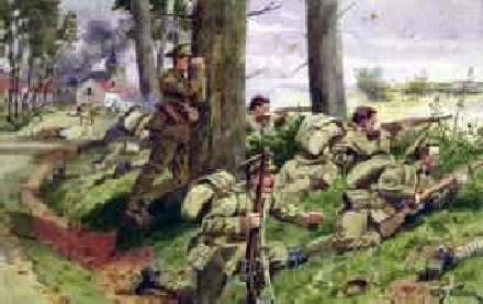 Coldstream Guards in France, 1914 - William Barnes Wollen