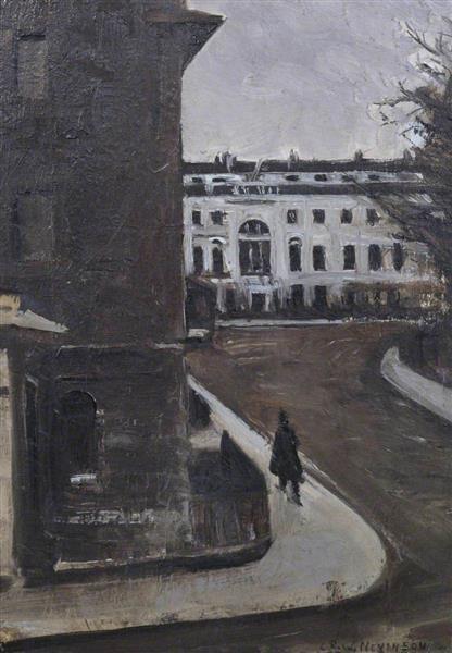 Fitzroy Square, 1923 - 1924 - C. R. W. Nevinson