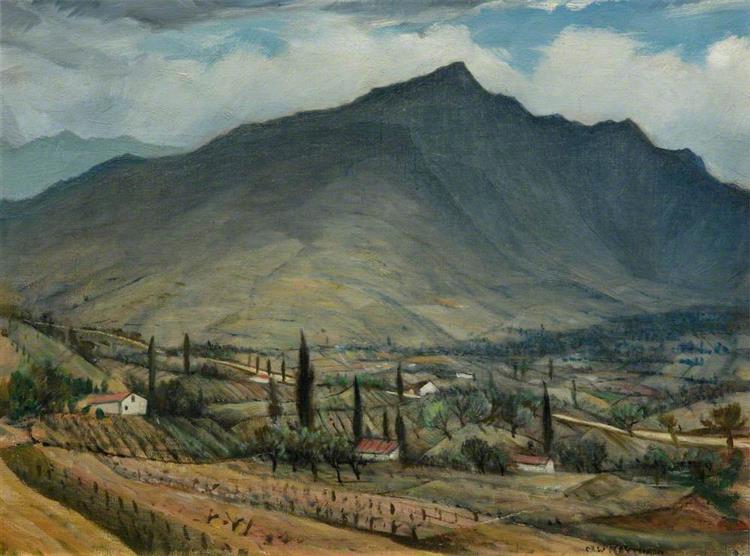 Pays Basque - C. R. W. Nevinson