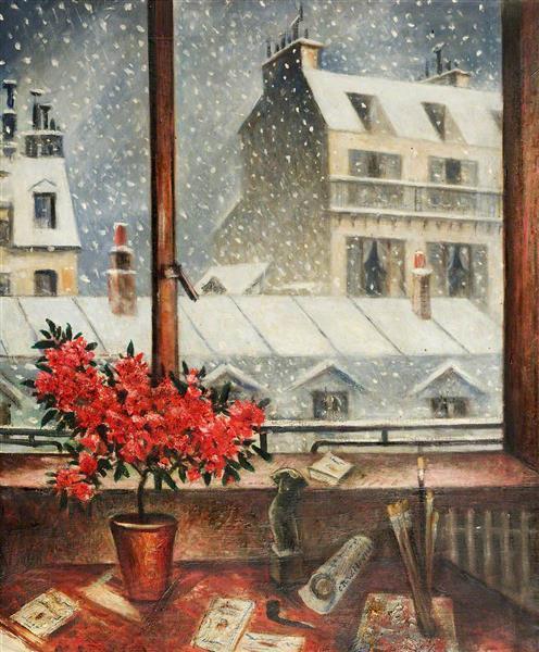 Winter Time - C. R. W. Nevinson