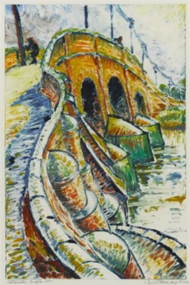 CATTAWADE BRIDGE, c.1932 - Cyril Power